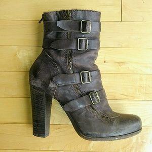 Gianluca Tombolini Italian Leather Boots